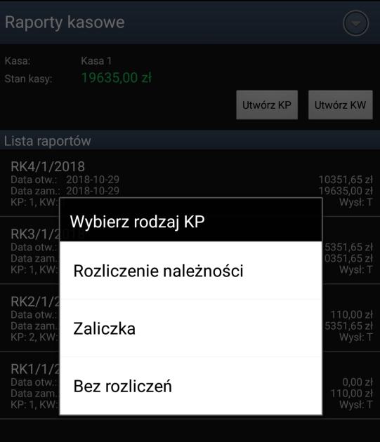 Rozliczenia kasowe w systemie sprzedaż mobilna